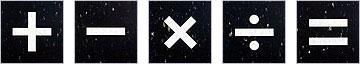 "Mathematical Symbols (VCT) 12"" x 12"" x 1/8"""