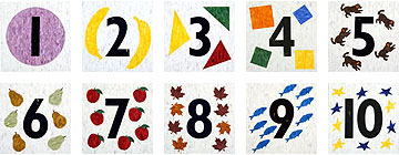 """Counting Tiles (VCT) 12"""" x 12"""" x 1/8"""""""