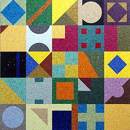 """Mosaic Quilt (VCT) 5'-0"""" x 5'-0"""""""